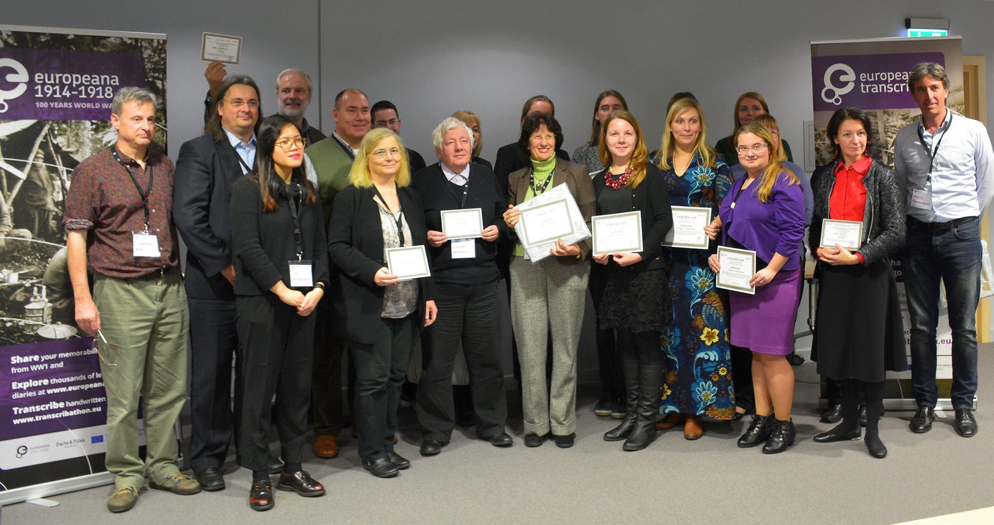 Winners Participants International Transcribathon Riga