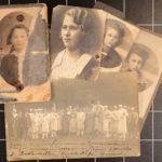 Portrety mojej babci Marii Krajewskiej i jej ojca Bazylego, który był w obozie pracy przymusowej