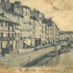 Victor Petitbon, blessé, est envoyé en convalescence à Biarritz, septembre 1914