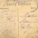 Victor Petitbon, blessé, est envoyé en convalescence à l'hôpital provisoire de Biarritz, septembre 1914