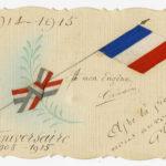 Carte envoyée à Eugène Baffert par sa femme Germaine, 2 juin 1915 (recto).