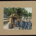 Auberive 1916, Le Bois de La Chapelle La messe du dimanche