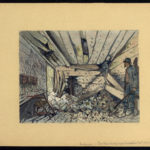 Poste téléphonique central après bombardement 5 juin 1916