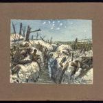 Tranchée Sinibaldi au Mont Haut, 19 septembre 1917