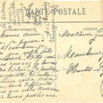 Correspondance de M. Bouries, de Vénerque (Haute-Garonne) envouée le 10 février 1915 à Mme Guichou de Maubourguet (Hautes-Pyrénées)