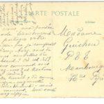 Carte postale envoyée le 26 avril 1915 par M. Bourie de Venerque (Haute-Garonne) à Mme Guichou PPT à Maubourguet (Hautes-Pyrénées)