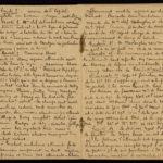 Extrait du journal du soldat Albéric Bru, septembre 1914