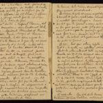 Extrait du journal du soldat Albéric Bru, novembre 1914