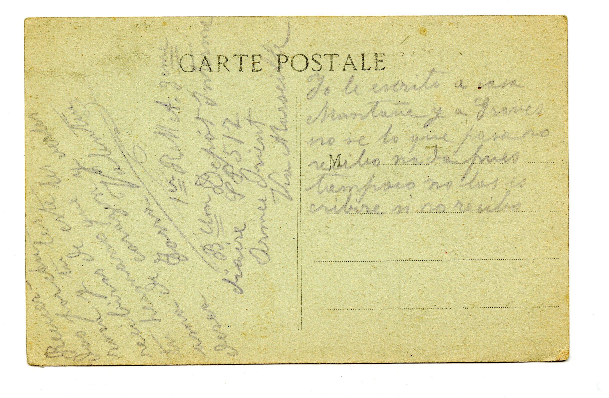 Carte Postale De La Campagne D Orient Transcribathon