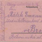 Lístok poľnej pošty