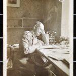 Major Wilhelm v. Ditfurth in seinem Arbeitszimmer, Billy 20.05.1915