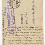 FRAD067-102 Albert Daltroff, Mosellan engagé dans l'armée allemande, correspond avec sa fiancée, item 2