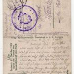 FRAD067-102 Albert Daltroff, Mosellan engagé dans l'armée allemande, correspond avec sa fiancée, item 4