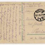FRAD067-102 Albert Daltroff, Mosellan engagé dans l'armée allemande, correspond avec sa fiancée, item 6