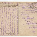 FRAD067-102 Albert Daltroff, Mosellan engagé dans l'armée allemande, correspond avec sa fiancée, item 8