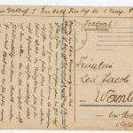 FRAD067-102 Albert Daltroff, Mosellan engagé dans l'armée allemande, correspond avec sa fiancée, item 10