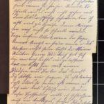 Feldpostkorrespondenz des Grenadiers Albert Hein mit seiner Frau 1916/1917, item 40