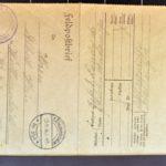 Feldpostkorrespondenz des Grenadiers Albert Hein mit seiner Frau 1916/1917, item 61