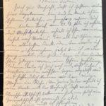 Feldpostkorrespondenz des Grenadiers Albert Hein mit seiner Frau 1916/1917, item 98