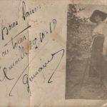 FRAM - Carte postale de Germaine Pierson à son frère