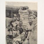 Feldpostkarte, 12.2.1916, Sommer 1915, im Schützengraben auf der Jagd nach den