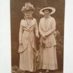 Die Kaiserin mit Kronprinzessin Cecilie, 29.8.1916
