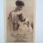 Kronprinzessin Cecilie zum Kriegskinderspendentag Oktober 1916