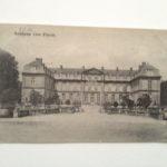 Feldpostkarte, Schloß von Pinon, 8.3.1916, zeitweiliger Sitz der Kommandantur des Regts.
