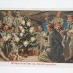Weihnachtskarte, 1914