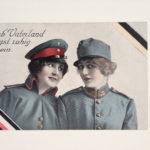 Postkarte, 9.12.1915 zur Front, Text aus