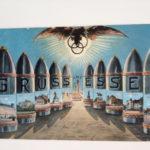 Postkarte aus Essen, 1916