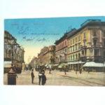 Feldpostkarte, Budapest, 8.9.1916, Verlegung an die Ostfront