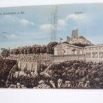 Postkarte, Hotel Drachenfels, Drachenfels, Königswinter, 19.2.1911