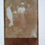 Foto, Peter Eisenhut Infantrie Regiment 68, Mitte, Freund von K. Eckenbach, als Schauspieler im Fronttheater, 24.6.1916