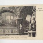 Postkarte Berlin 1903, Königl. Zeughaus - Ruhmeshalle, Versailles 1871