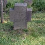 Grabstein meiner Großmutter Adele Hark