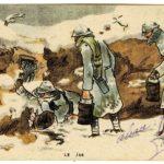 Carte postale du dessinateur GABARD