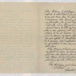 15- Lettre d'un filleul à sa marraine de guerre Madeleine Favre