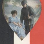 Liebes-Feldpostkarte