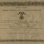 Légion d'honneur - Diplôme