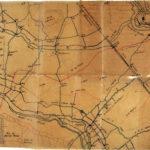 Carte d'état-major - Récit des opérations du printemps 1917