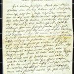 Hedwig Nehlsen schreibt ihrem Mann Wilhelm an die Ostfront - 1914