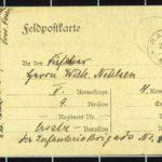 Hedwig Nehlsen schreibt ihrem Mann Wilhelm an die Ostfront - 1914, item 5