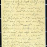 Hedwig Nehlsen schreibt ihrem Mann Wilhelm an die Ostfront - 1914, item 13