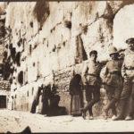 Deutsches Militär an der Klagemauer, Jerusalem