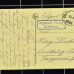Feldpostkarten von Karl Dinkela an seine Frau Hedwig, Februar 1915 - Juli 1917, item 18