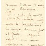 Lettere dello zio Giulio Feroggio, item 5