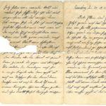 Brief von Johann Nonnenbroich aus Oberhausen (Rheinland) - Weihnahten 1914