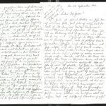 Gedichte des Leutnants der Reserve Franz Berens, item 66