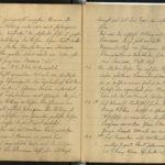 Paul Wahl berichtet von seinem Einsatz in Flandern und Galizien, item 16